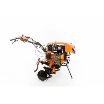 Motocultor Ruris 1001KSD+roti cauciuc+plug reveribil Rev2 + roti metalice 500, motorina, putere 10 Cp, latime de lucru 75-125 cm, pornire automata la cheie, 2 viteze inainte + 1 inapoi #17