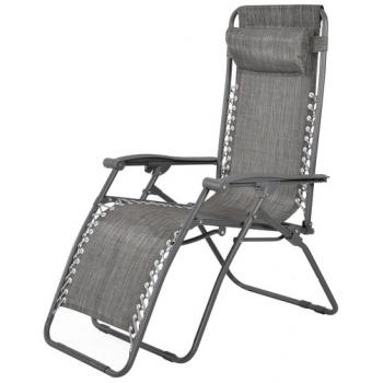 Scaun reglabil Hecht Relax Chair, structura din aluminiu, Hecht