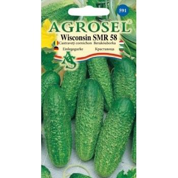 Seminte Castraveti Wisconsin SMR 58( 5 gr),  Agrosel