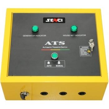 Generator de curent Senci, SC-13000-ATS, monofazic, putere 12.0 kW, benzina, putere motor 22 Cp, tensiune 230 V, pornire eelctrica, AVR si ATS incluse, portabil (4 roti directionale) #4