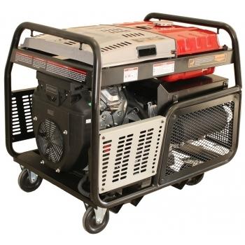 Generator de curent Senci, SC-13000TEQ, trifazic, putere 12.0 kW, benzina, putere motor 22 Cp, tensiune 400 V / 230 V, pornire electrica, AVR inclus, portabil (4 roti directionale)