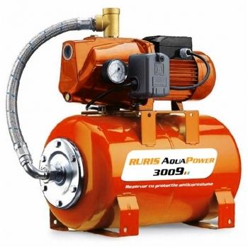 Hidrofor Ruris AquaPower 3009, putere motor 1500 W, debit 55 l/min, Ruris