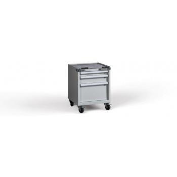 Container C-ROLL 740/580 H3 ,3 sertare, blat cauciuc, Metalobox