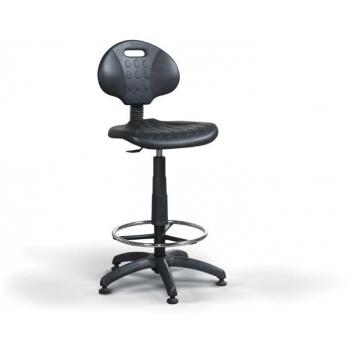 Scaun de lucru Practica Plus/Fix, cu ventuze+suport picior