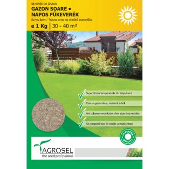 Seminte gazon Soare (1000 gr) Agrosel