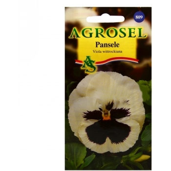 Seminte flori Pansele alb (0.25gr) Agrosel, 2PG