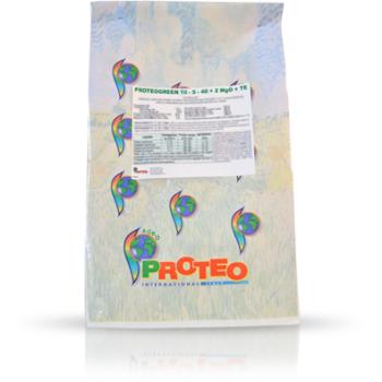 Ingrasamant solubil in apa, cu aplicare prin fertirigare, Proteogreen 10-5-40+2 MgO+TE, 25 kg, Brise Group