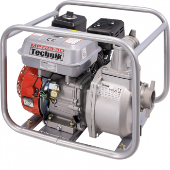 Motopompa MPT23-30, Ape semiuzate, 2'', Benzina fara plumb, 5.5 CP, 30 mc/h, La sfoara, Technik #2