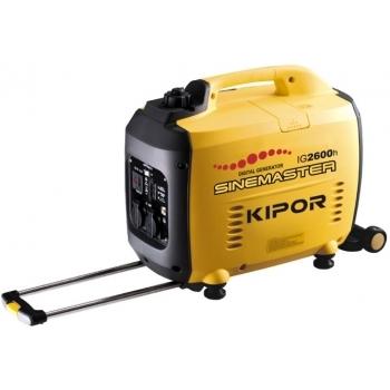 Generator de curent Kipor, digital IG 2600H, monofazic, putere 2.6 kW, benzina, putere motor 3.5 Cp, tensiune 230 V, pornire manuala