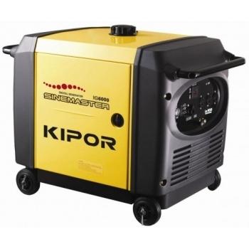 Generator de curent Kipor, digital IG 4000, monofazic, putere 4.3 kW, benzina, putere motor 5.85 Cp, tensiune 230 V, pornire electrica, sistem de aprindere T.C.I.