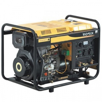 Generator de curent si pentru sudura Kipor, KDE 180 XW, monofazic, putere 2.8 kW, diesel, putere motor 3.81 Cp, tensiune 230 V, pornire manuala #2