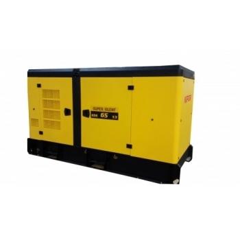 Generator de curent Kipor, KDE 46 S3, trifazat, putere 41.3 kW, diesel, putere motor 55 Cp, tensiune 230 V / 400 V, pornire electrica