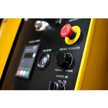 Generator de curent Kipor, KDE 118 S3, trifazat, putere 110.0 kW, diesel, putere motor 148 Cp, tensiune 230 V / 400 V, pornire electrica #4