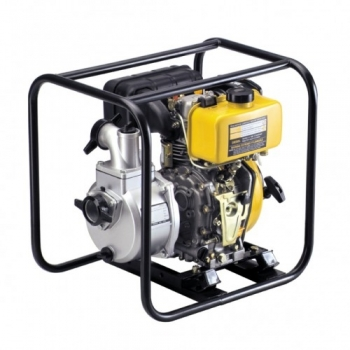 Motopompa KDP 40E, Diesel, Apa curata / semi-murdara, 100 mm, 4.2 CP, 40 mc/h, Electrica, Kipor