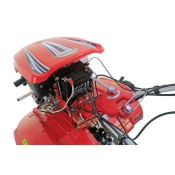 Motocultor PRO SERIES NEW  1350-S cu diferential + roti, motorina, putere 9 Cp, latime de lucru 70-150 cm, pornire automata la cheie, 2 viteze inainte + 1 inapoi #9