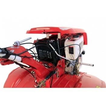 Motocultor PRO SERIES NEW  1350-S cu diferential + roti, motorina, putere 9 Cp, latime de lucru 70-150 cm, pornire automata la cheie, 2 viteze inainte + 1 inapoi #4