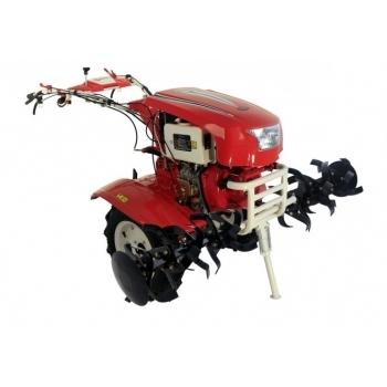 Motocultor PRO SERIES NEW  1350-S cu diferential + roti, motorina, putere 9 Cp, latime de lucru 70-150 cm, pornire automata la cheie, 2 viteze inainte + 1 inapoi