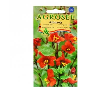 Seminte flori Alonzoa, rosu Agrosel