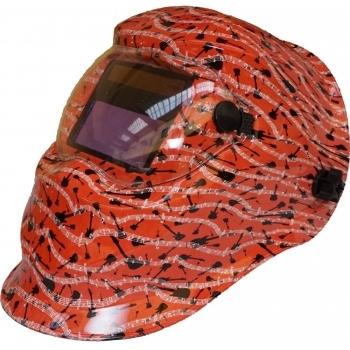 Masca de sudare cu cristale lichide, baterie solara si protectie anti-UV si IR, Proweld YLM-74L0A (Music), Proweld