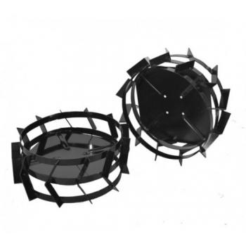 Set roti mici de otel pentru motosape, ProGarden