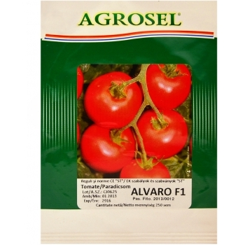 Seminte Tomate hibrid Alvaro F1 Agrosel(250 sem)