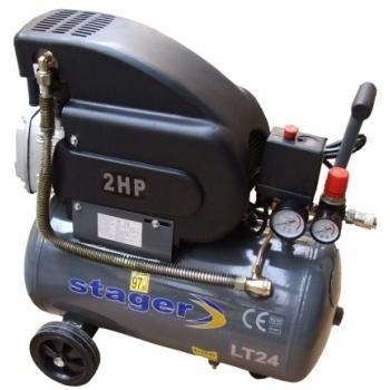 Compresor aer HM2024B, 1500W, 8 bar, 24 L, Stager