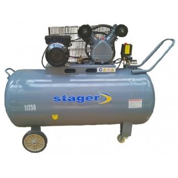 Compresor aer HM-V-0.25/250, 2200 W, 8 bar, 250 L, Stager