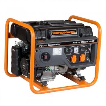 Generator de curent Stager, Open Frame GG4600, monofazic, putere 3.8 kW, benzina, putere motor 5 Cp, tensiune 230 V, pornire manuala #2