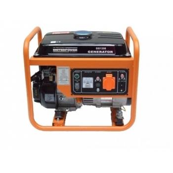 Generator de curent Stager, Open Frame GG1356, monofazic, putere 1.1 kW, benzina, putere motor 1.5 Cp, tensiune 230 V, pornire manuala