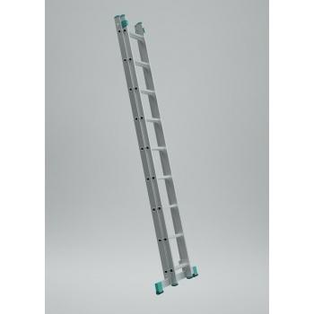 Scara universala cu doua tronsoane 7509, 2x9 trepte, Alverosal