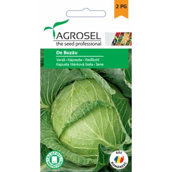 Seminte Varza de Buzau(2 gr), Agrosel, 2PG