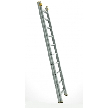Scara profesionala forte cu doua tronsoane culisanta 8218, 2x18 trepte, Alverosal