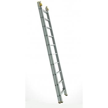 Scara profesionala forte cu doua tronsoane culisanta 8718, 2x18 trepte, Alverosal