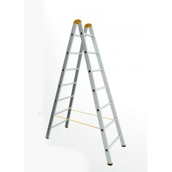 Scara dubla forte 8909, 2x9 trepte, Alverosal