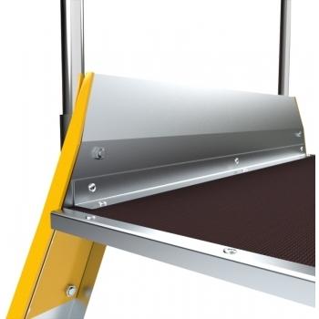 Platforma mica forte cu trepte pe ambele parti 9704, 2x4 trepte, Alverosal #2