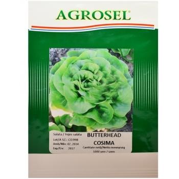 Seminte Salata  Butterhead Cosima(1000 sem),  Agrosel