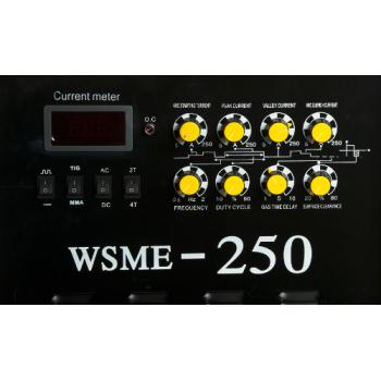 Velt WSME 250 Invertor TIG/MMA (AC/DC) 400V Aluminiu, Vladicom Tools #2