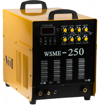 Velt WSME 250 Invertor TIG/MMA (AC/DC) 400V Aluminiu, Vladicom Tools