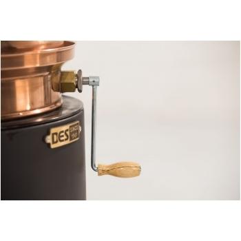 Model Hobby 30L - Cu amestecător - Cu focar pentru combustibil solid, Des - Cazane #2