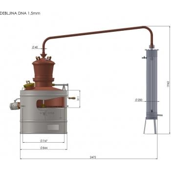 Cazan Model Stabil MIU 160L, Des - Cazane #7