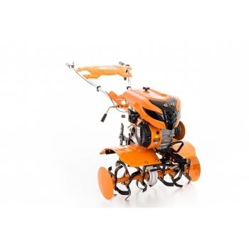 Motosapa RURIS 701KS cu roti cauciuc + plug reversibil rev1 + roti metalice 400 fara manicot, benzina, putere 7 Cp, latime de lucru 56-83 cm, pornire la sfoara, 2 viteze inainte + 1 inapoi #18
