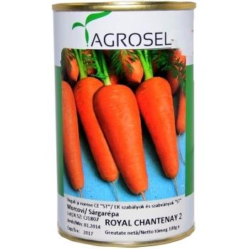 Seminte Morcovi Royal Chantenay 2(100 gr), Agrosel