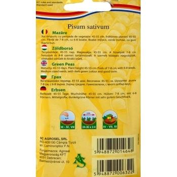 Seminte Mazare Kelvedon Wonder 30 gr Agrosel #2