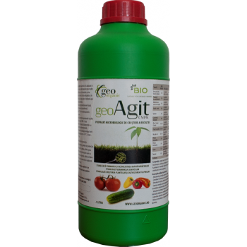 Ingrasamant lichid Bio, pentru toate culturile, cu aplicare la sol, GeoAgit, 1L, Geo Organic
