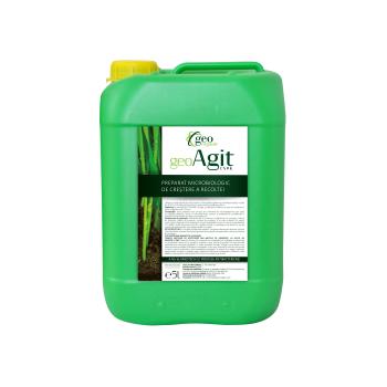 Ingrasamant lichid Bio, pentru toate culturile, cu aplicare la sol, GeoAgit, 20L, Geo Organic