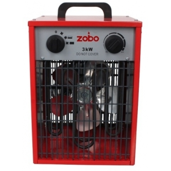 Aeroterma Electrica ZB-EF3, 3000W, 40mp, Zobo
