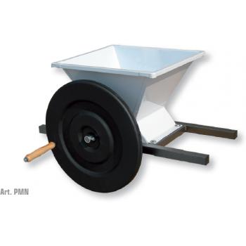 Zdrobitoare de struguri  Mini, cuva din tabla emailata, productie 400/600 kg/h, Mantzaris International