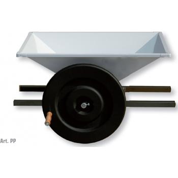 Zdrobitoare de struguri Midi, cuva din tabla emailata,  productie 500/700 kg/h, Mantzaris International