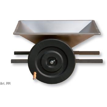 Zdrobitoare de struguri Midi Inox, cuva din inox,  productie 500/700 kg/h,  Mantzaris International