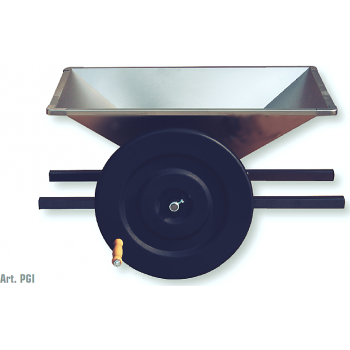 Zdrobitoare de struguri Maxi Inox, cuva din inox,  productie 500/800 kg/h,  Mantzaris International